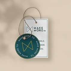 make more TO apparel tags