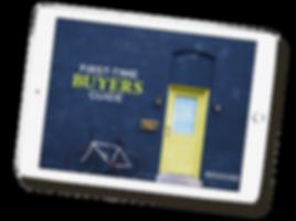 real estate e-book design on ipad