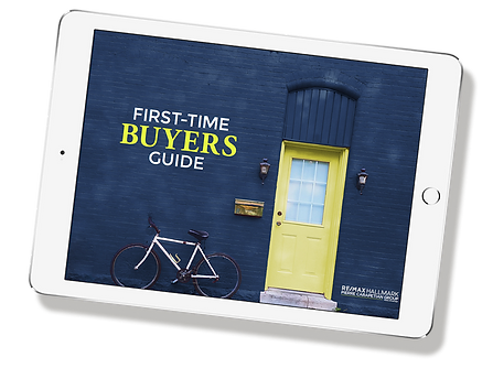 real estate e-book design on ipad