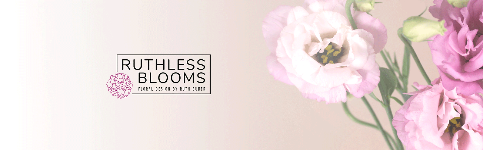 ruthless blooms brand design