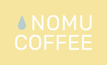 nomu coffee stacked logo
