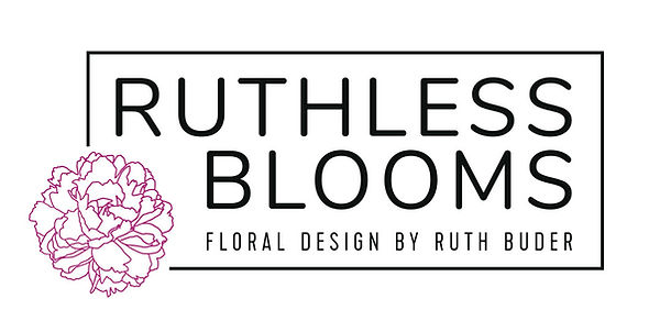Ruthless Blooms Logo Design