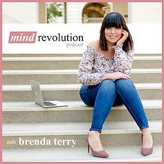 mind revolution podcast cover art rebran