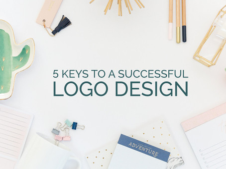 5 KEYS TO A SUCCESSFUL LOGO DESIGN
