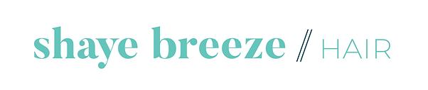 Shaye-Breeze Hair wordmark