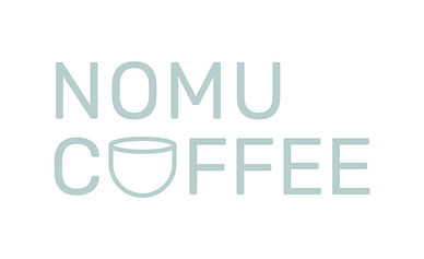 nomu coffee wordmark logo