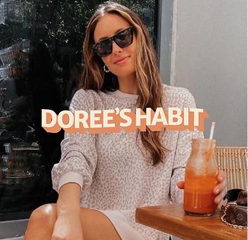 dorees habit branding fashion