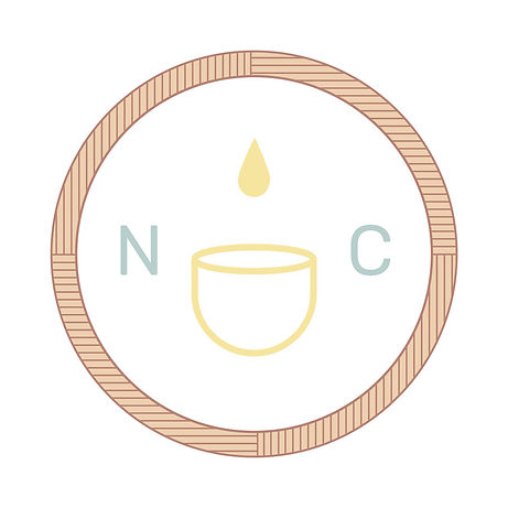 nomu coffee logo design