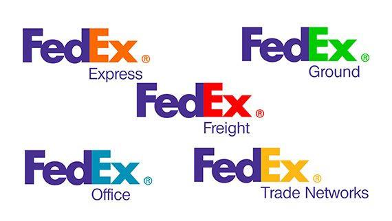 fedex brand system design for their service fleet