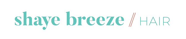 Shaye-Breeze Hair wordmark mix