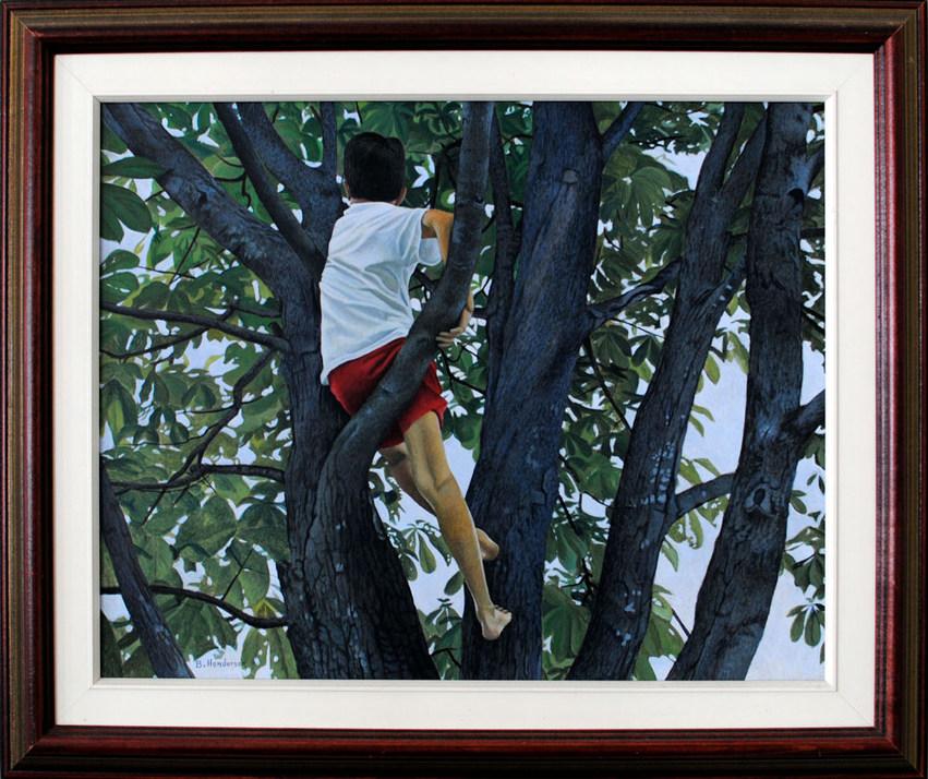 Chris in Tree