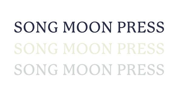 Song Moon Press branding wordmarks