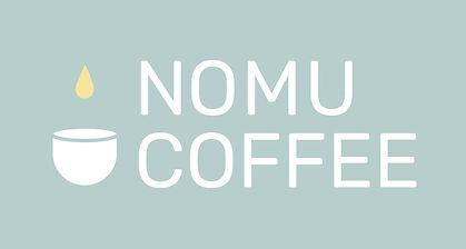 nomu coffee stacked cup logo