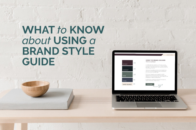 how to use a brand style guide blog