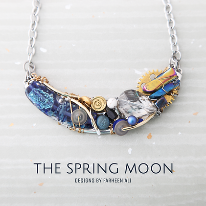 the spring moon jewelery design