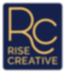 rise creative alternate logo design