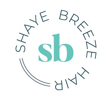 Shaye Breeze Hair badge logo