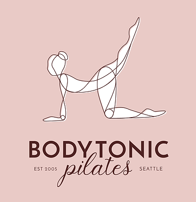 Bodytonic Pilates logo design