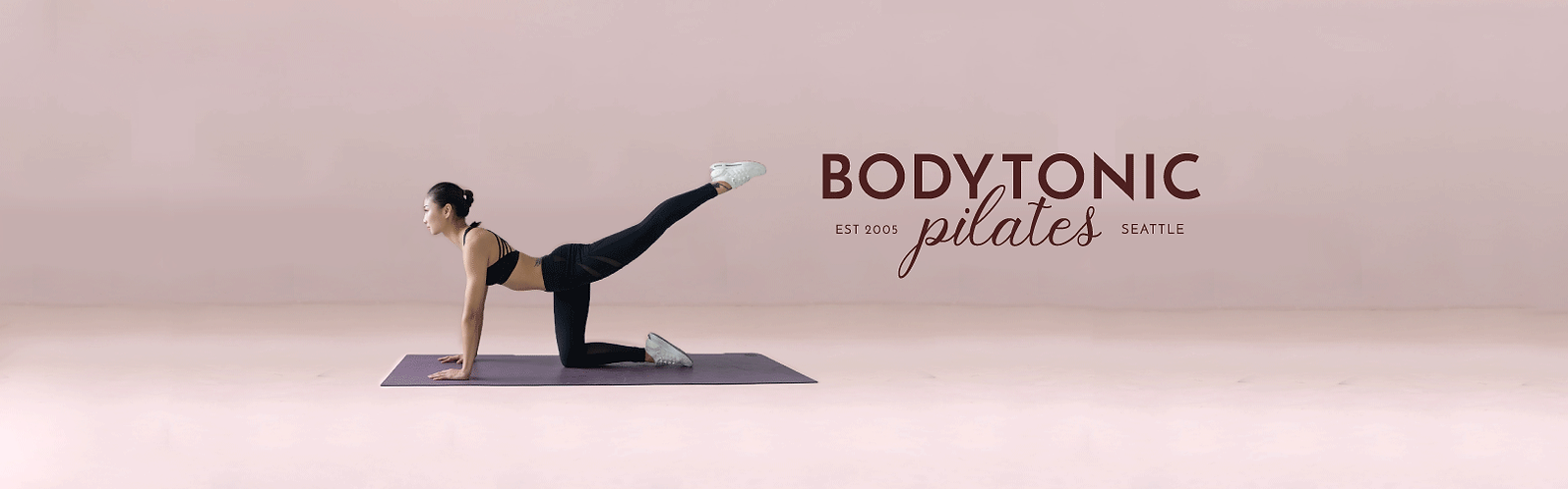 bodytonic pilates brand identity