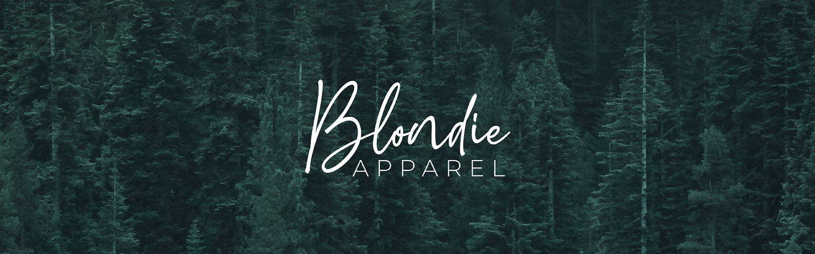 brand identity design for Blondie Appare