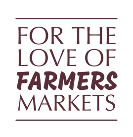 for the love of farmers markets logo