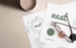 nest logo design and branding