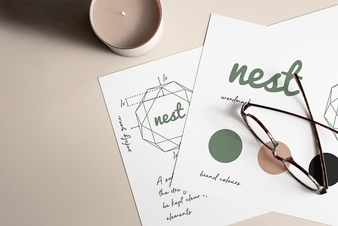 nest logo design and branding