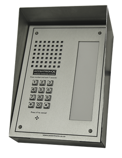 GSM1000 Intercom with index