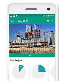 ProjectJar provide user-friendly dashboard in mobile devices that available all in your hand