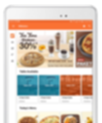 Savory is the perfect solution for restaurant management, accessible and easy to use in your tab.