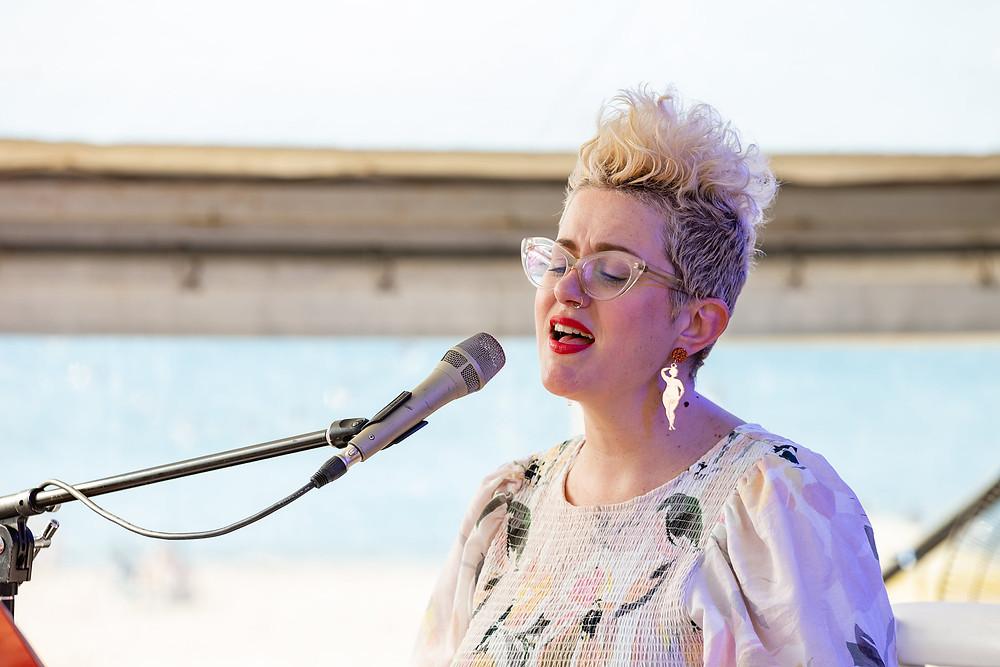 Katie Noonan Singing - Arts Funding