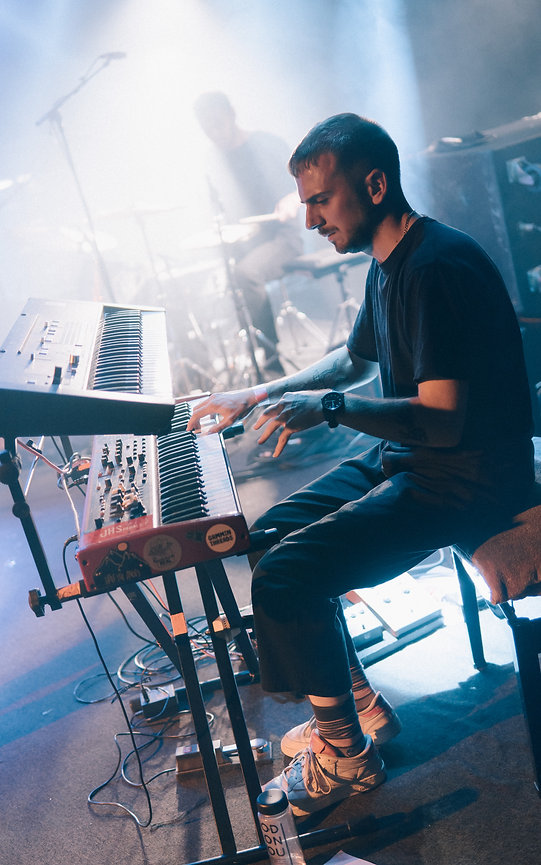 Jake Amy playing Piano at Max Watts - Live Music