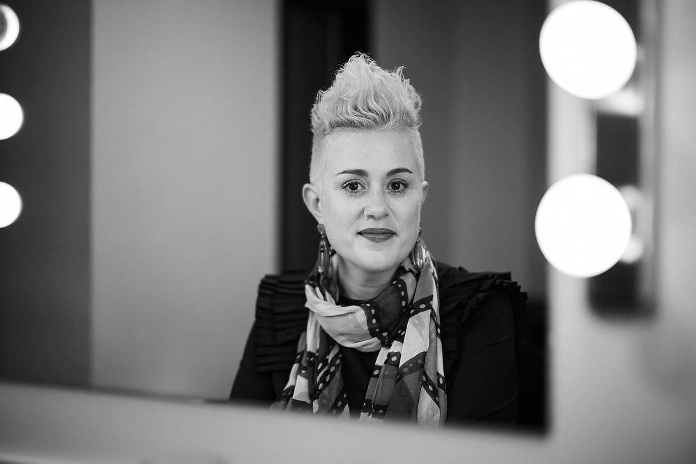 Katie Noonan photographed by Claudio Raschella
