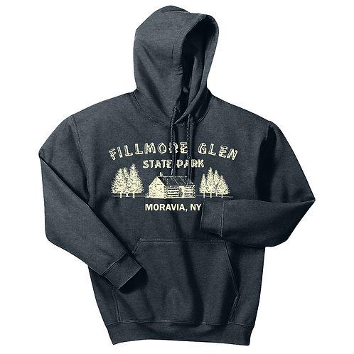 Fillmore Glen Cabin Adult Pullover Hoodie