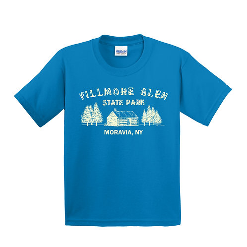 Fillmore Glen Cabin Youth T-shirt