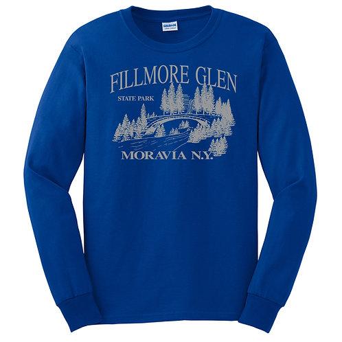 Fillmore Glen Bridge Adult Long Sleeve Tee