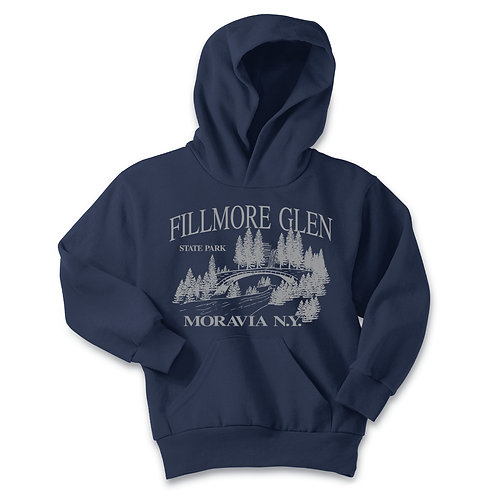 Fillmore Glen Bridge Youth Pullover Hoodie