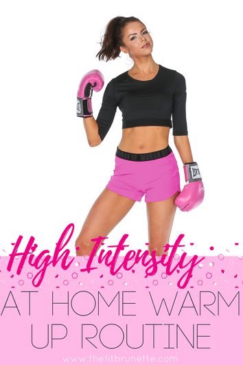 VIDEO: Quick, High Intensity Warm Up Routine | At Home Exercises: NO EQUIPMENT NEEDED!