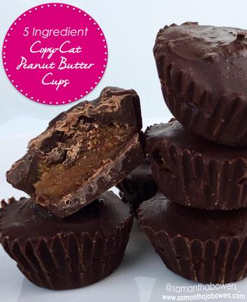 5 Ingredient Copy-Cat Peanut Butter Cups