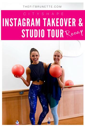 Kansas City Fitness Studio Tours | CityShape Instagram Takeover Recap & Highlights