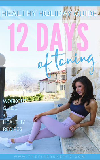 The 12 Days of Toning Holiday Fitness Challenge Starts TODAY! Here's Your #MondayMotivation