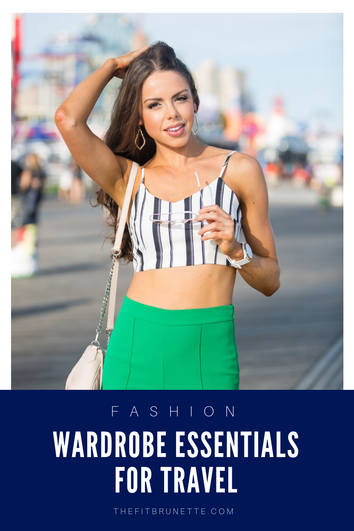 Travel Essentials | Wardrobe pieces that always make it in to the suitcase