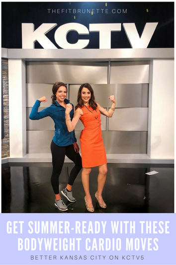 Get Ready For Summer With These Bodyweight Cardio Exercises | Workout With Better KC on KCTV5