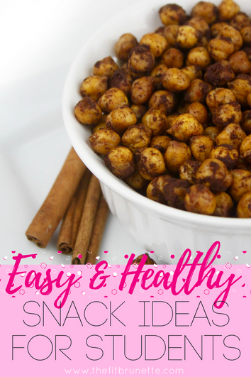 5 Healthy Snack Ideas for Students | Easy Recipes for School