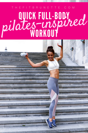 VIDEO: Tone Your Entire Body With This Pilates Inspired Workout | No Equipment, At-Home Exercise Rou