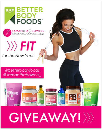 FIT for the New Year: Betterbody Foods Instagram GIVEAWAY
