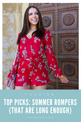 How to find a romper long enough | Top picks for summer rompers
