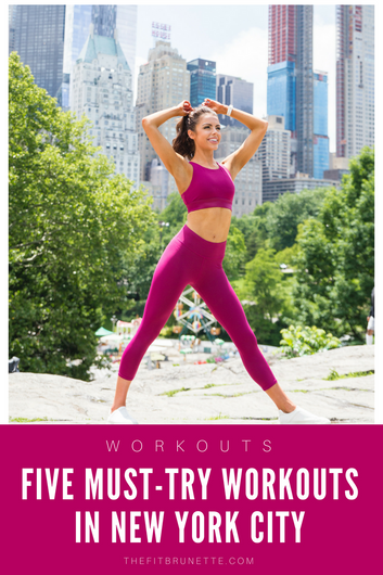 The Five Workout Classes You NEED to Try in NYC