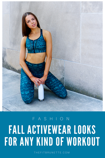 7 Fall Activewear Looks You Need In Your Closet