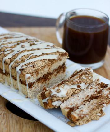 Skinny Cinnamon Streusel Coffee Cake